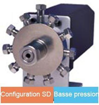 "Vanne GC multipositions, 1/8"", configuration SD, 200psi"
