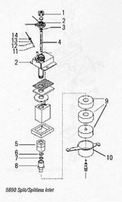 Image de Kit de fournitures pour injecteur split/splitless (unité)